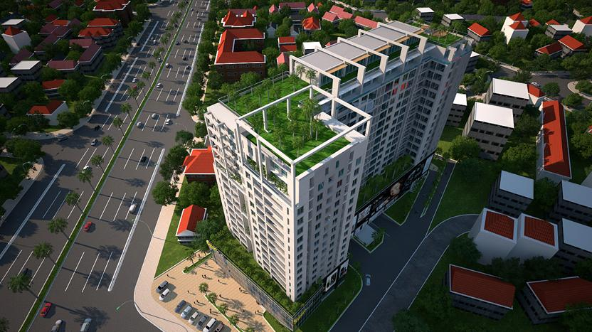 Những chung cư căn hộ đường Phạm Văn Đồng Gò Vấp – Sunny Plaza