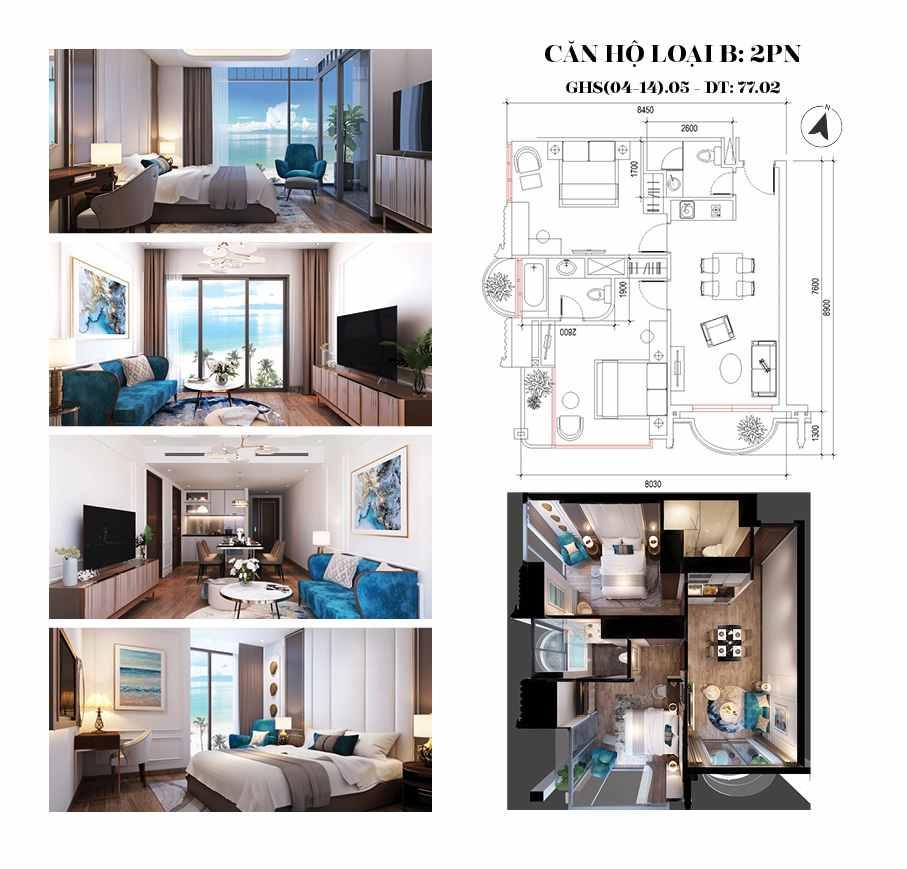 Oyster Gành Hào Vũng Tàu - căn 2 phòng ngủ dự án-compressed