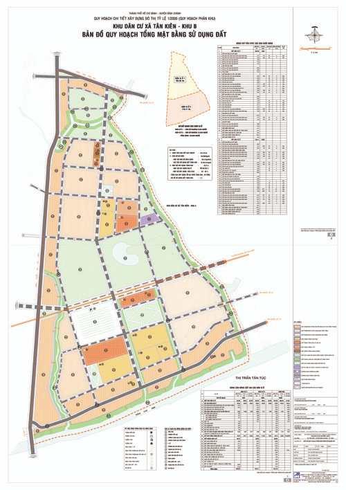 Quy hoạch xã Tân Kiên Khu B huyện Bình Chánh, Tp.HCM