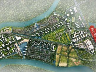 Một sdự án 355ha của Nam Long tại Long An, khu vực thuộc vùng vệ tinh của TP HCM