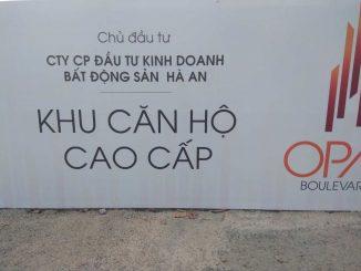 Opal Boulevard - Chủ đầu tư công ty bất động sản Hà An