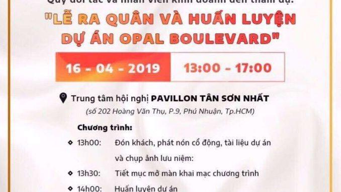 Opal Boulevard Lễ ra quân dự án ngày 16_4_2019-