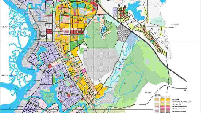 Quy hoạch Phú Mỹ - Thị xã từ năm 2019 - 2025