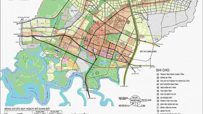 Quy hoạch bà rịa - Thành phố nam 2019 - 2025