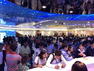 hơn 1000 khách hàng tham quan căn hộ mẫu opal boulevard