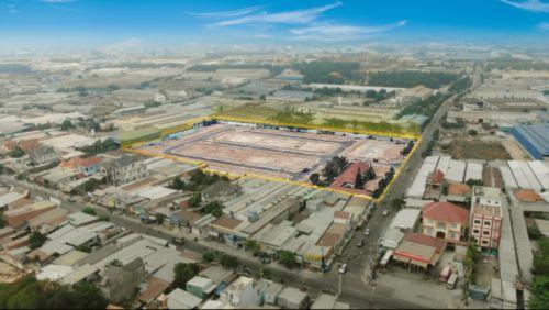Ảnh thực tế dự án đất nền – khu dân cư Horizon Homes