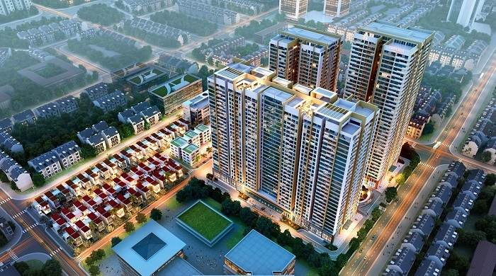AIO City Bình Tân - Phối cảnh Dự án căn hộ chung cư