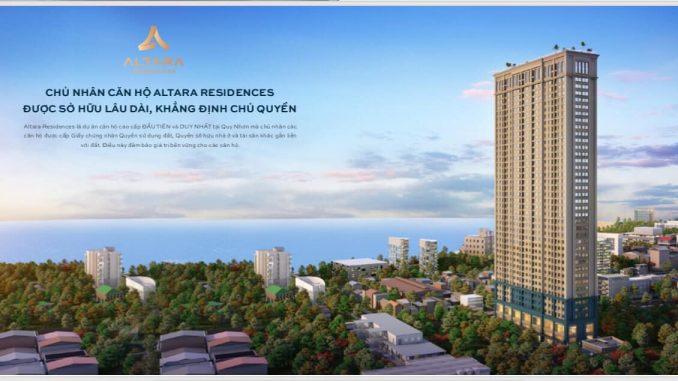 Altara Residences Quy Nhơn - Tổng quan dự án căn hộ cao cấp