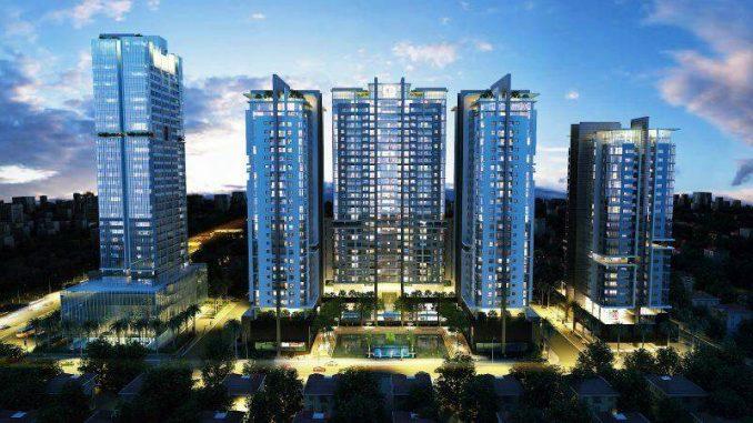 Charm City Bình Dương - Ban đêm Tổng quan dự án căn hộ chung cư