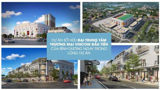 Charm City Bình Dương - Tiện ích Tổng quan dự án căn hộ chung cư