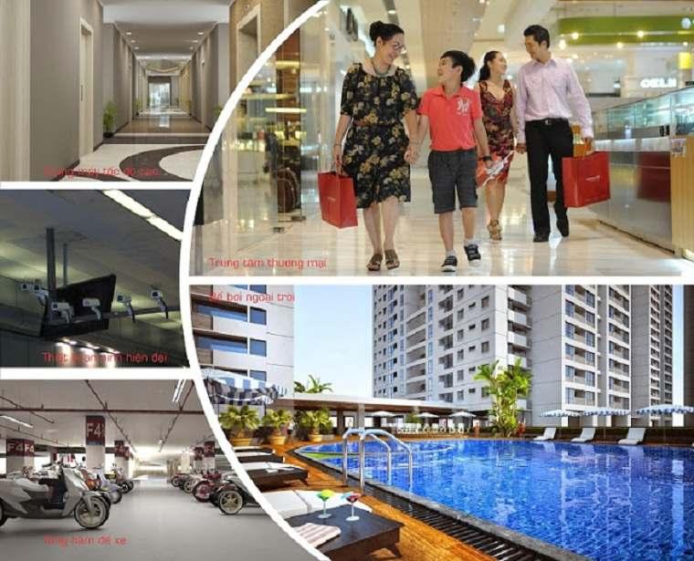 D-Homme Quận 6 - Dự án căn hộ tại mặt tiền đường Hồng Bàn - Tiện ích