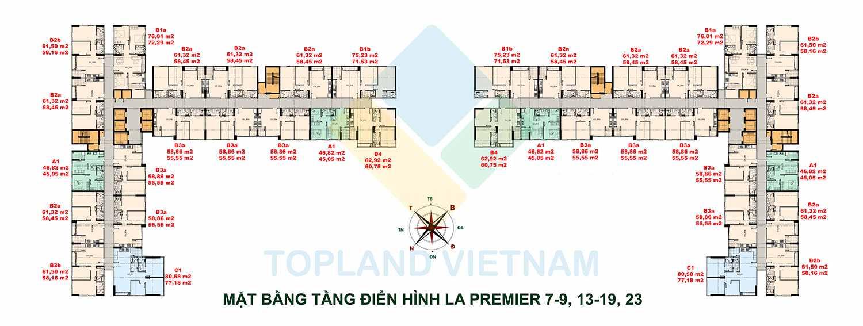 La Premier Võ Chí Công Quận 2 - Mặt bằng Tổng quan dự án Khu căn hộ thương mại