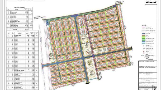 Lai Uyên Residence Bình Dương - Mặt bằng Tổng quan dự án khu đô thị mới