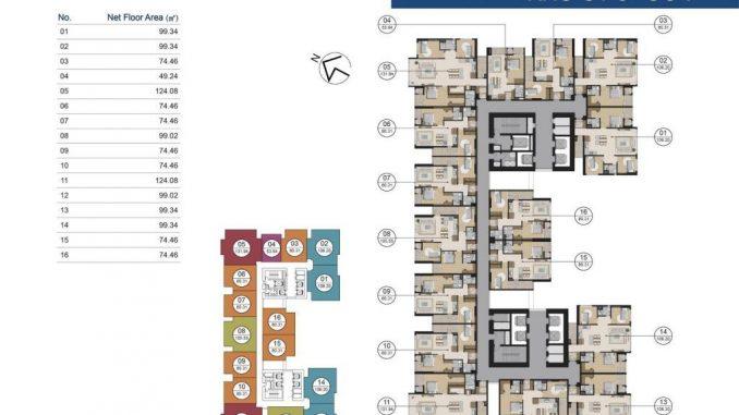 Laimian City Lương Định Của Quận 2 - Mặt bằng dự án căn hộ