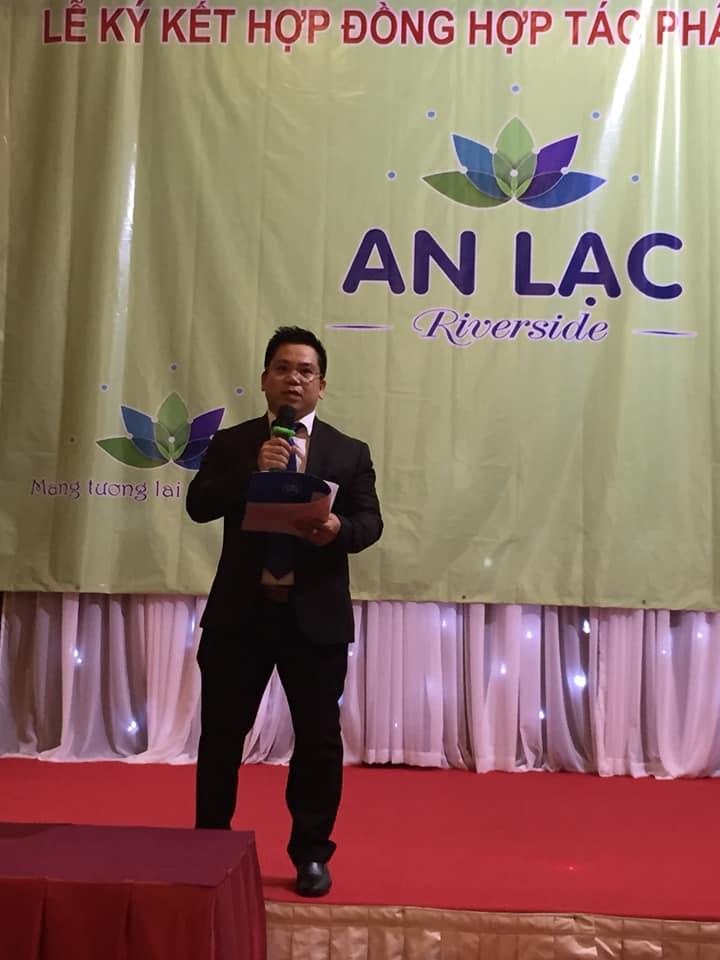 Ông Tăng Quang Sơn - Tại lễ ký kết hợp tác dự án An Lạc Riverside