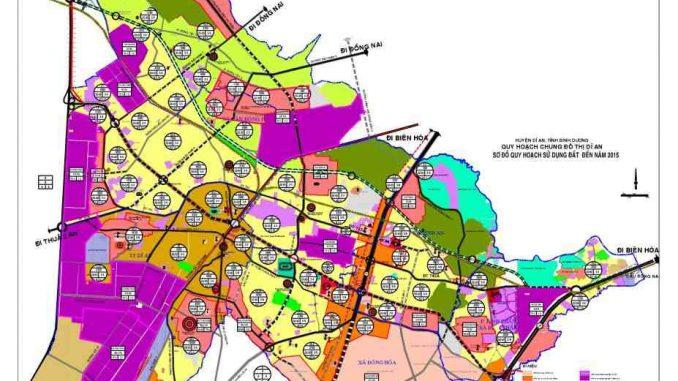 Quy hoạch thị xã Dĩ An, Bình Dương