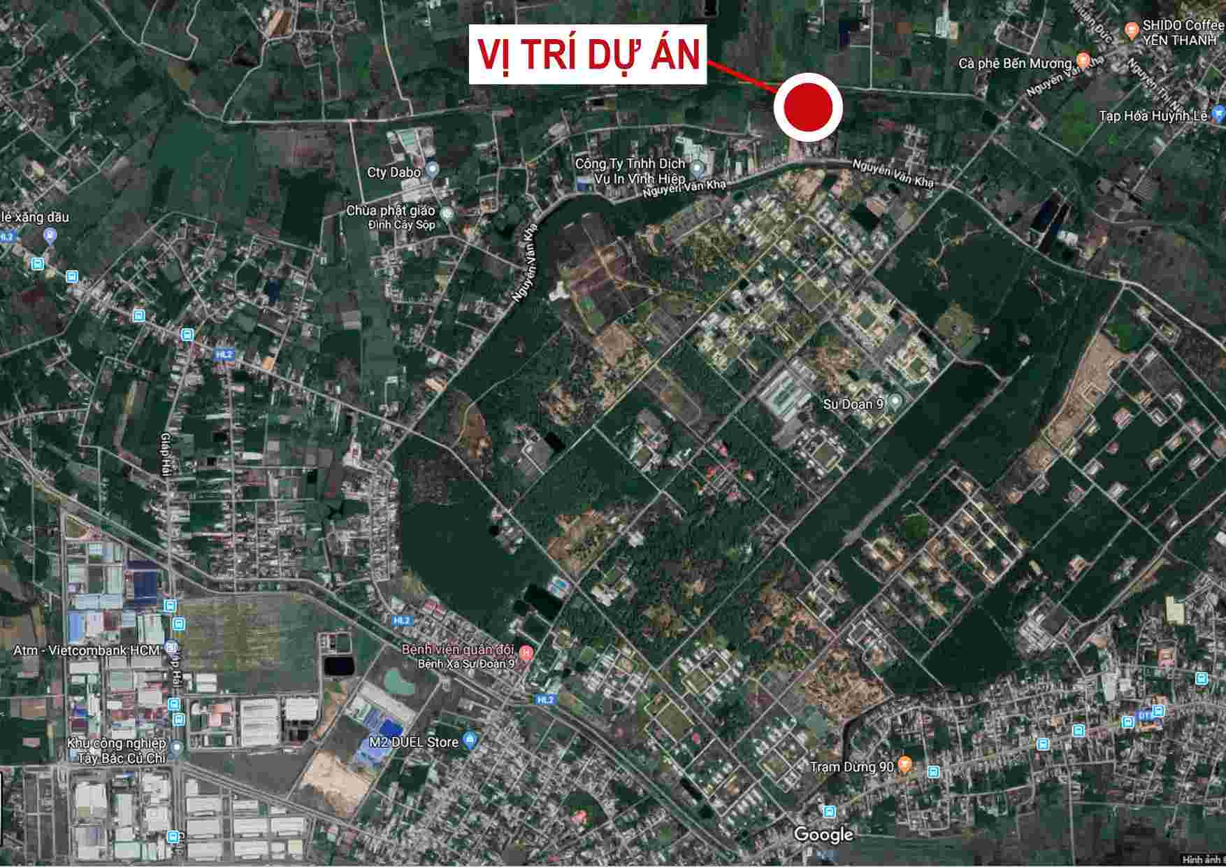 Sài Gòn Eco Town Củ Chi - Vị trí dự án