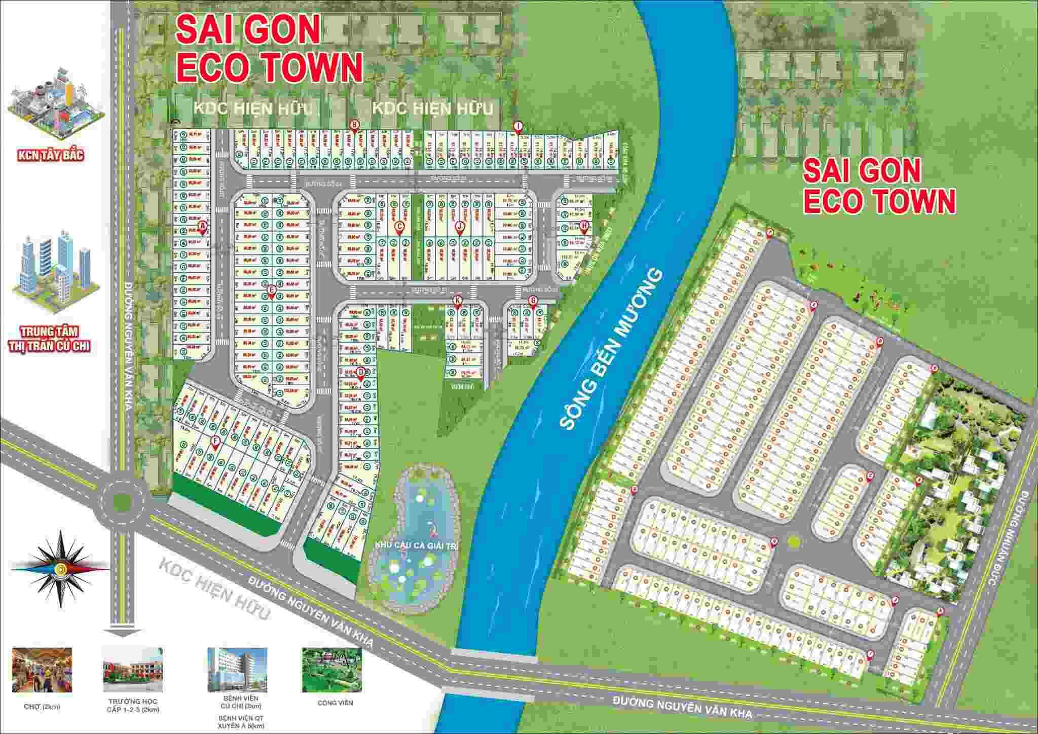 Sài Gòn Eco Town Củ Chi