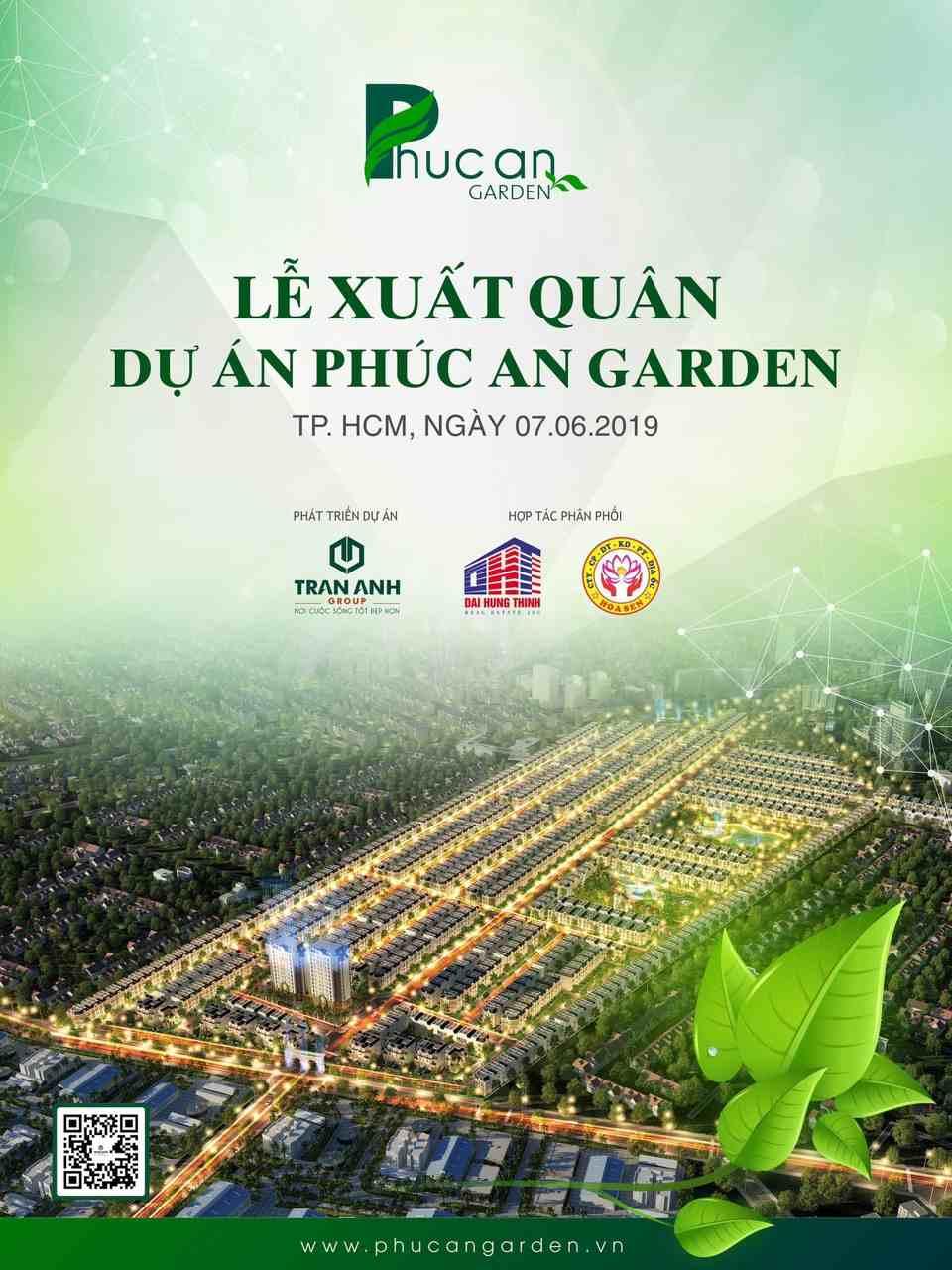 Phúc An Garden - Lễ ra quân dự án đất nền