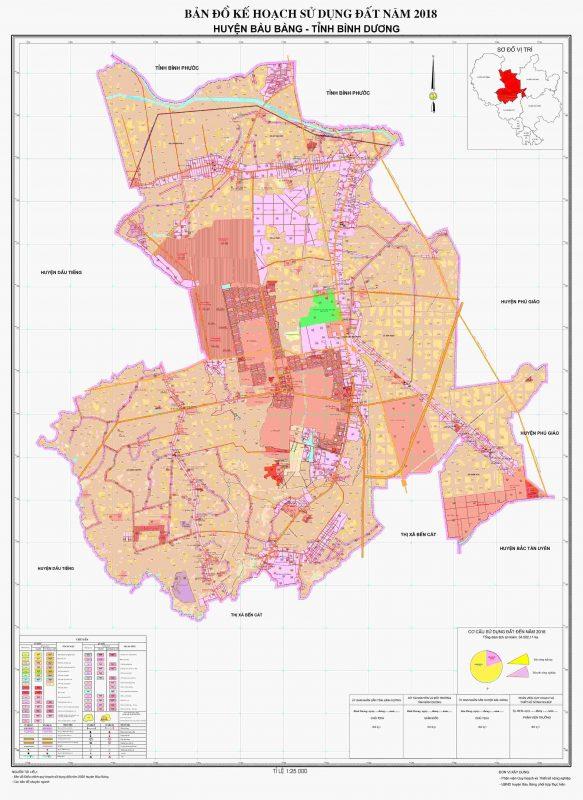 Quy hoạch huyện Bàu Bàng, Tỉnh Bình Dương
