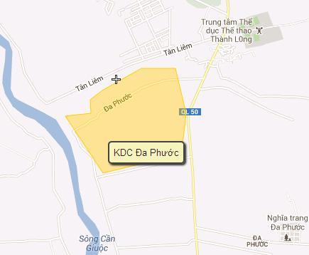 Quy hoạch xã Đa Phước huyện Bình Chánh