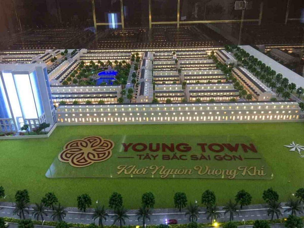 Young Town Đức Hoa Long An - Sa bàn