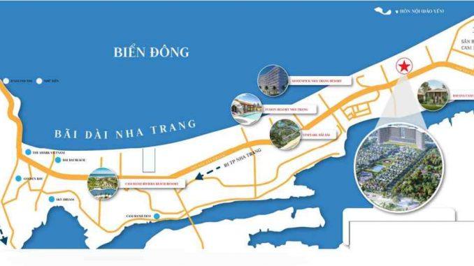 Somerest Cam Ranh Bay - Bãi Dài - Vị trí-compressed