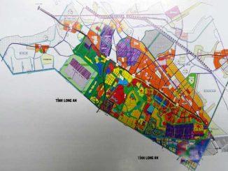 Khu đô thị Tây Bắc được điều chỉnh dựa trên bản đồ cũ này