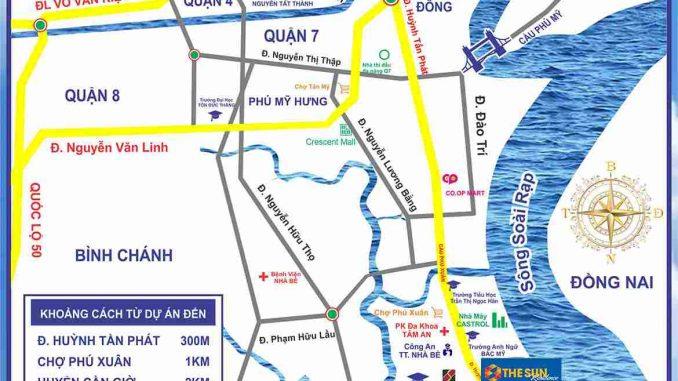 The Sun Residence Nhà Bè - vị trí-compressed