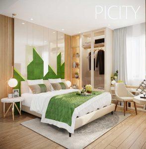 Picity High Park Quận 2 - Dự án căn hộ chung cư - Phòng ngủ lớn