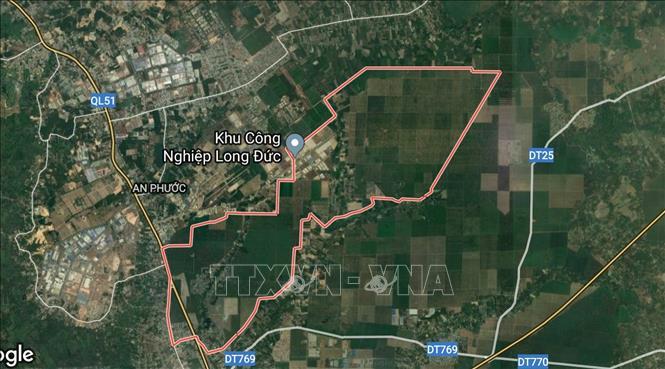 Quỹ đất gần 93ha của Công Ty Hà An mua tại Long Thành gần cảng sân bay Long Thành