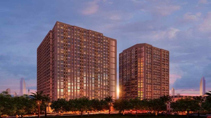 Alva Plaza Thuận An Bình Dương - Phối cảnh ban đêm dự án
