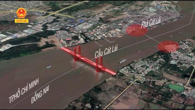Năm 2020 Cầu Cát Lái khởi công - Đất Nhơn Trạch có thể tăng giá 3 tới 5 lần