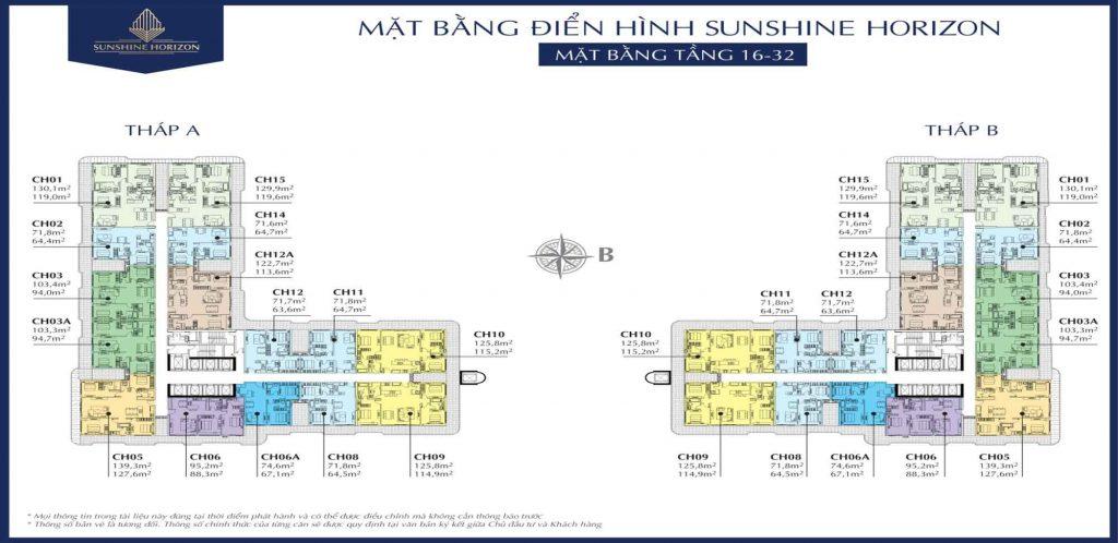 Sunshine Horizon Quận 4 - Thiết kế căn hộ chung cư