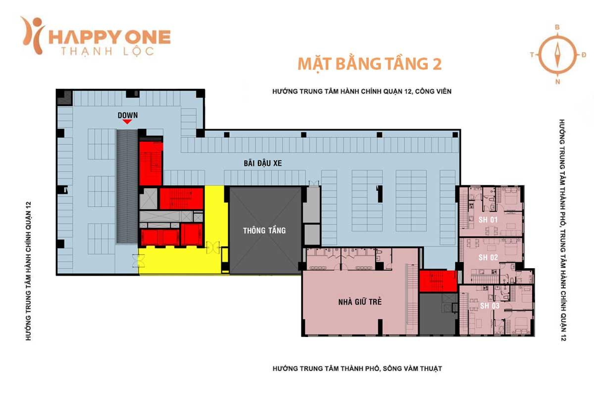 Happy One Thạnh Lộc Quận 12 - MB1