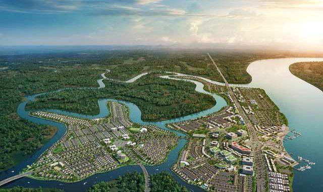 Quỹ đất của Tập đoàn hiện sở hữu và đang nghiên cứu triển khai vào khoảng 4900 ha