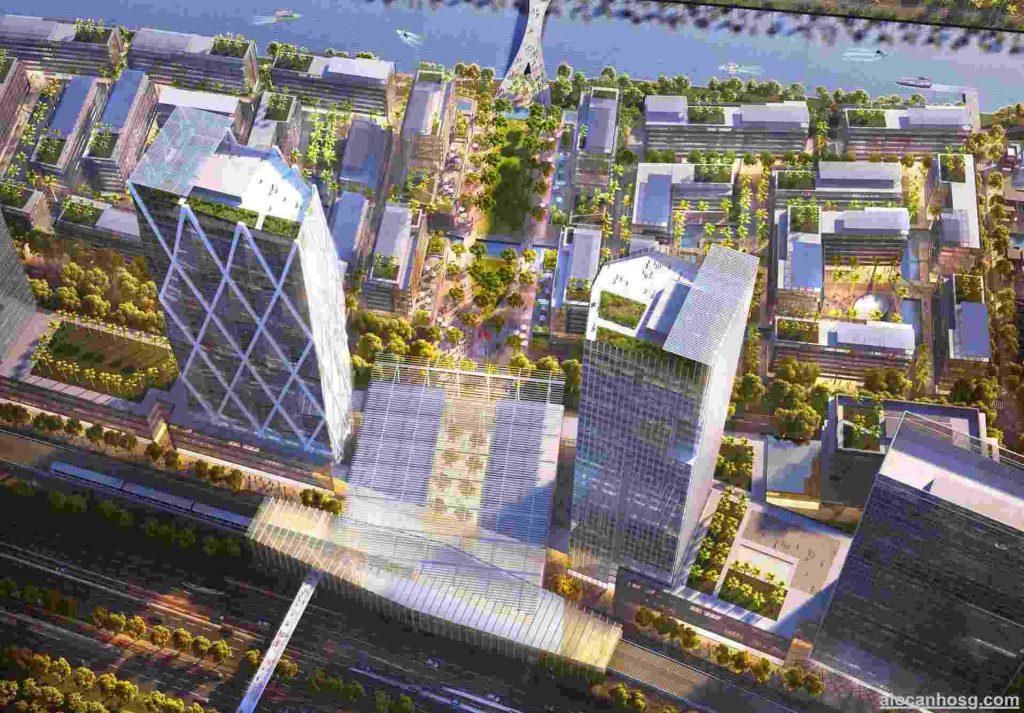 River City Thủ Đức - Phối cảnh dự án trên cao