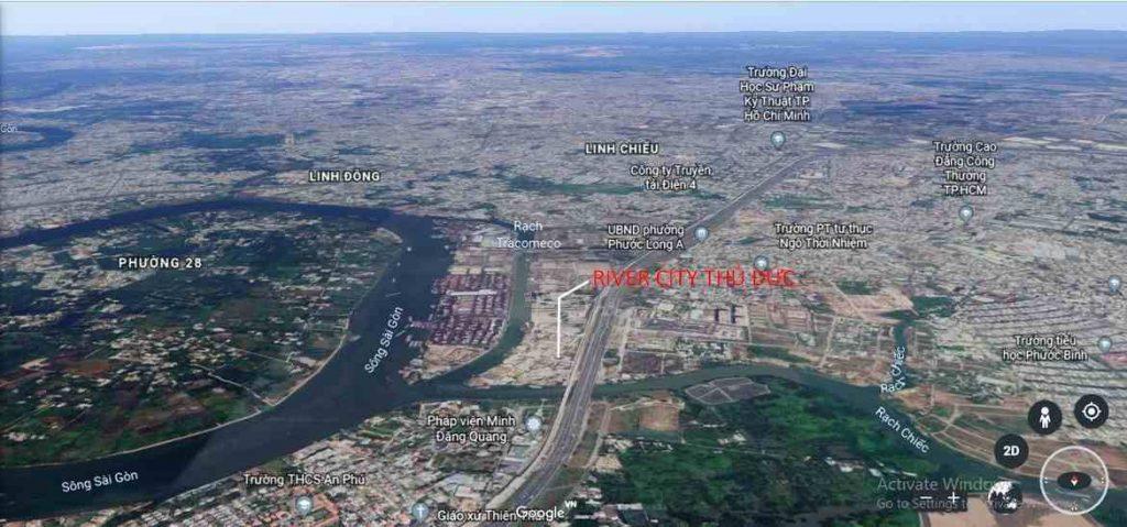 River City Thủ Đức - Phối cảnh dự án vị trí