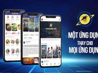 Siêu ứng dụng Sunshine App của Sunshine Group năm 2020