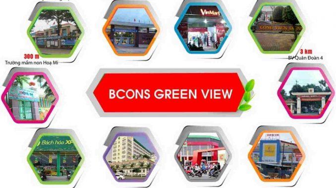 Bcons Green View Làng Đại Học Bình Dương - Tiện ích