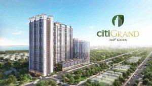 Citi Grand Quận 2 - Phối cảnh tổng thể dự án căn hộ