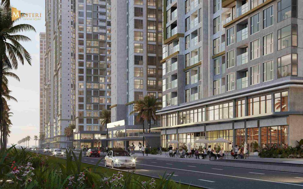 Masteri Centre Point - Masterise Homes Quận 9 - Shophouse