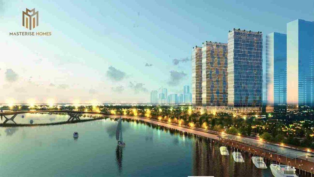 Masterise Homes Ba Son Quận 1 - Phối cảnh dự án từ Masterise Group - View sông