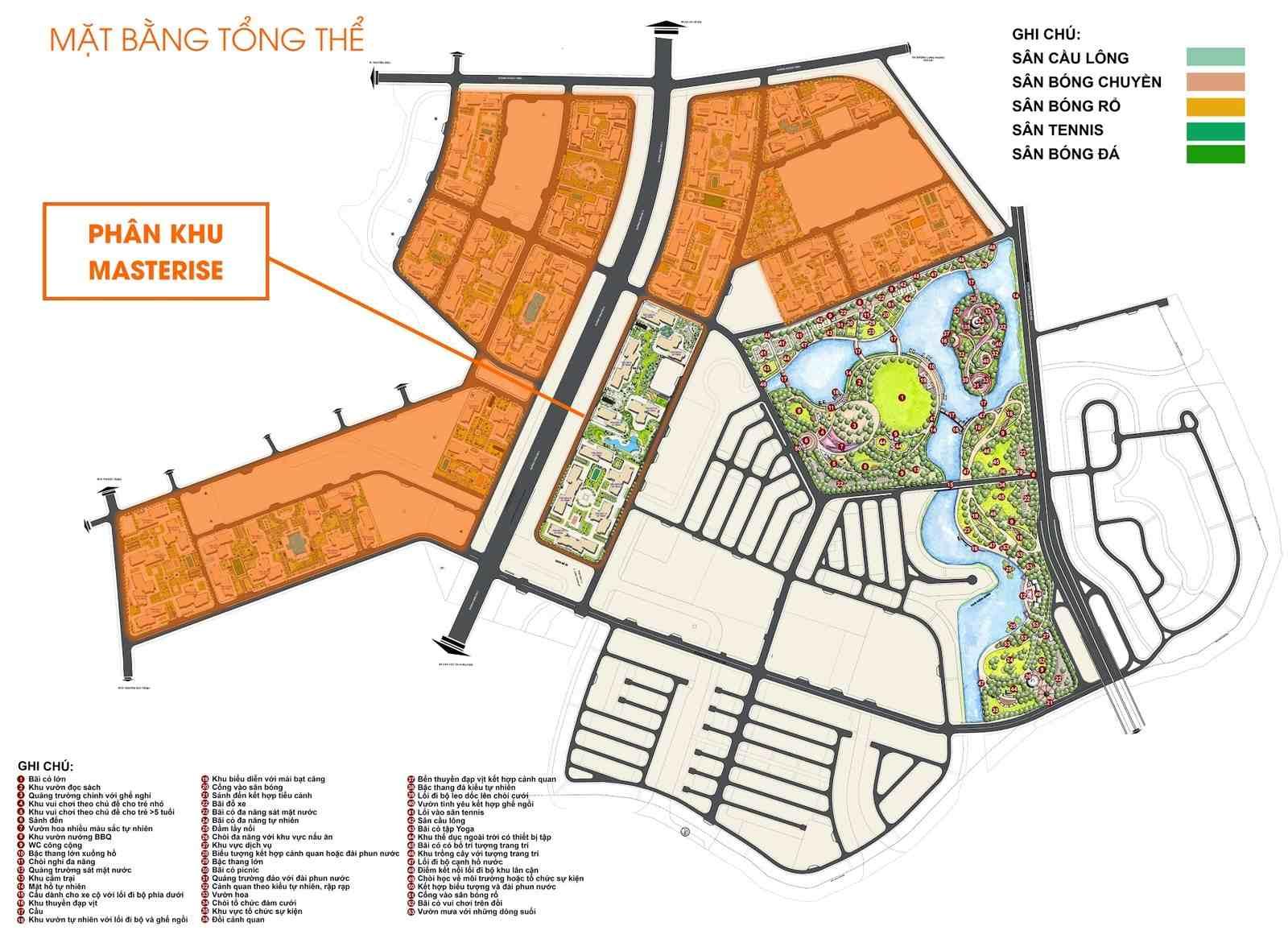 Masterise Homes Masteri Centre Point Marina Central - Masterise Grand Park Quận 9 - Mặt bằng