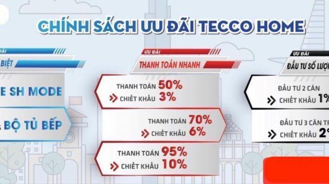 Tecco Home An Phú - Chính sách ưu đãi