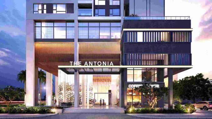 The Antonia Quận 7 - Phú Mỹ Hưng - Dự án Căn hộ Cao cấp - Mặt trước