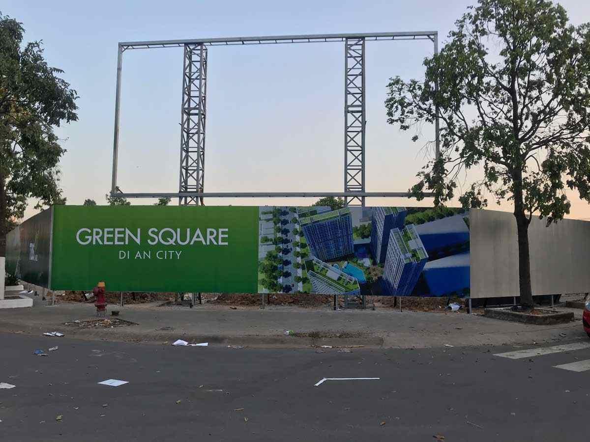 Green Square Dĩ An City Bình Dương - Quỹ đất