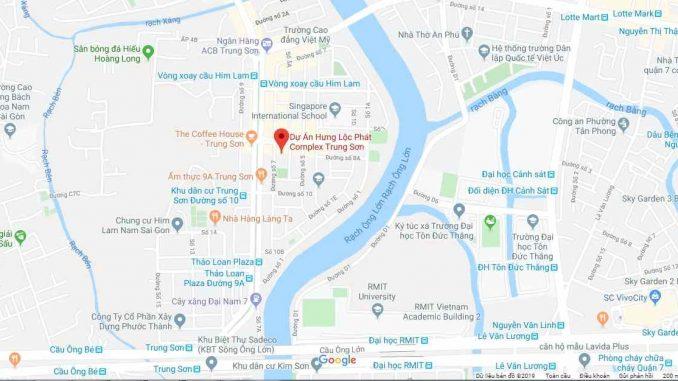Hưng Lộc Phát Complex Trung Sơn - Vị trí