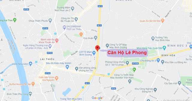 Lê Phong Complex - Vị trí