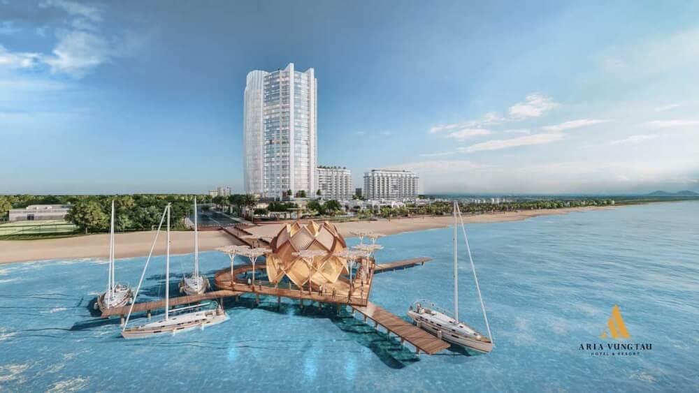 Aquamarine Vũng Tàu - Dự án căn hộ chung cư - Phối cảnh